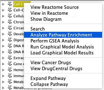 Analyze Pathway Enrichment