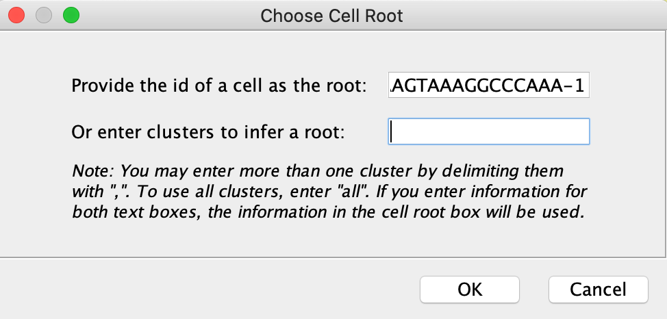 Configure Cell Root for DPT